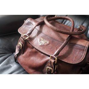 PRADA Handbag / Beautiful Brown Leather !!! 💯💯